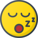 emoji, emote, emoticon, emoticons, snoring icon