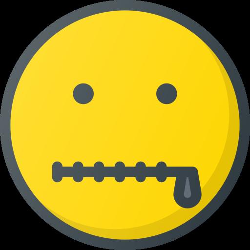 emoji, emote, emoticon, emoticons, zipped icon