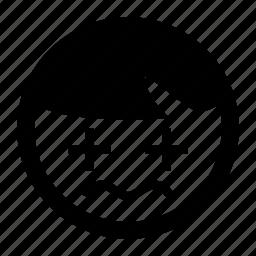 blur, emoji, emoticons, tired, unsure icon