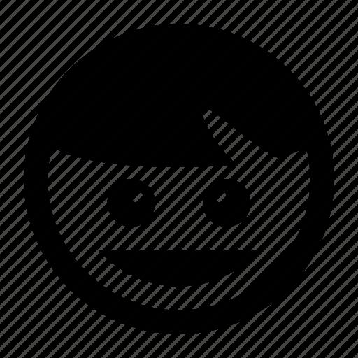 emoji, emoticons, happy, smiley, smiling icon