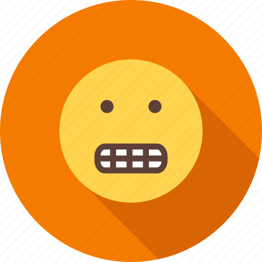 cartoon, face, funny, grin, mouth, smile, teeth icon