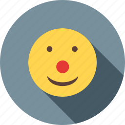 circus, clipart, clown, face, hat, purim, wig icon