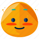 blush, emoji, emoticon, emotion, face, shy, smiley icon