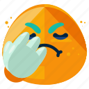 angry, emoji, emoticon, face, smiley icon