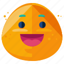 emoji, emoticon, face, grin, happy, smile, smiley icon