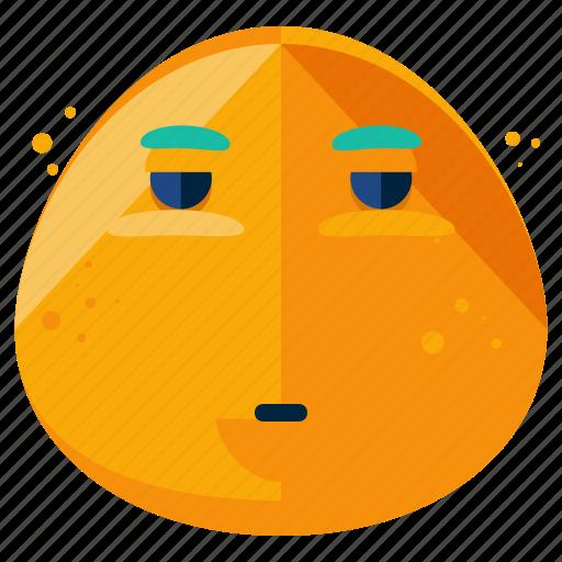 emoji, emoticon, face, inpatient, smiley icon