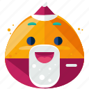 celebrate, christmas, emoji, emoticon, emotion, santa, smiley