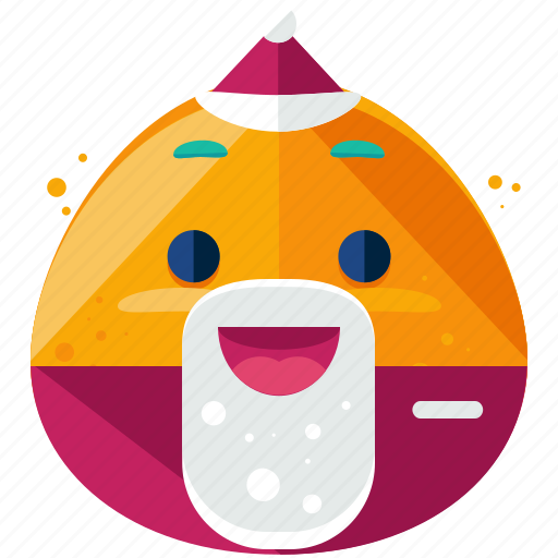 celebrate, christmas, emoji, emoticon, emotion, santa, smiley icon