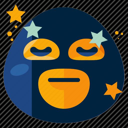 emoji, emoticon, face, mask, smiley, wrestler icon