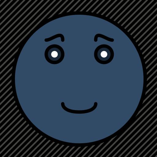 emoji, emoticon, emotion, expression, face, happy, smiley icon