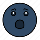 emoji, emoticon, emotion, face, feeling, frustrated, smiley icon