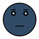 disappointed, emoji, emoticon, emotion, frustrated, smiley icon