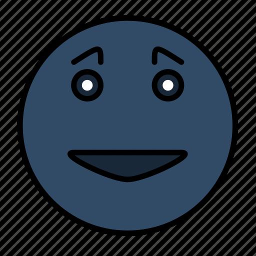 emoticon, emotion, face, happy smiley, smail, smiley icon