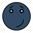 emoji, emoticon, emotion, expression, happy, smail, smiley icon