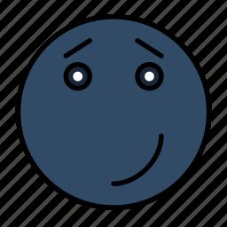 emoji, emoticon, emotion, expression, happy, smail, smiley icon