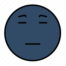 emoji, emoticon, emotion, sad, smiley icon
