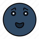 emoji, emoticon, emotion, face, happy, smail, smiley icon