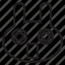 appalled, avatar, emoji, emotion, expression, face, feeling, frightened, scared, shocked icon
