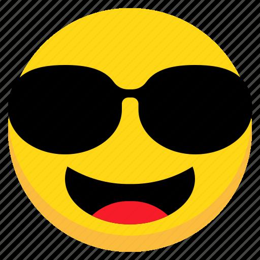 Avatar, cool, emoji, emoticon, face, happy, man icon - Download on Iconfinder