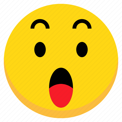 avatar, emoji, emoticon, face, human, person, shocked icon