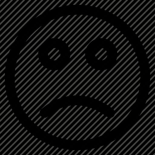 Icon, smile, sad icon - Download on Iconfinder on Iconfinder