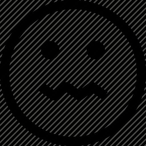 emoji, emotion, emotional, face, feeling, sick icon
