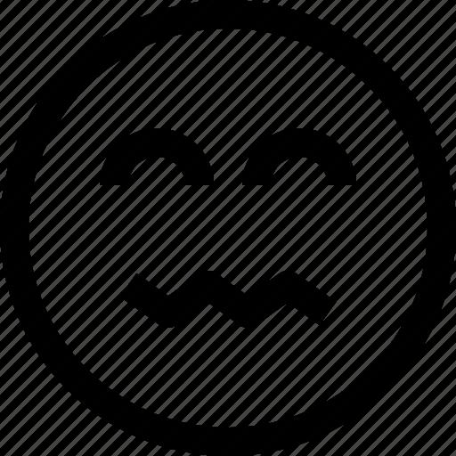 emoji, emotion, emotional, face, feeling, safe icon