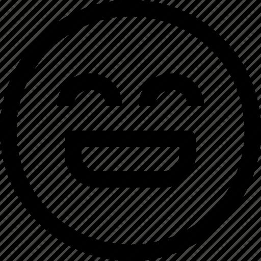 emoji, emotion, emotional, face, feeling, happy icon
