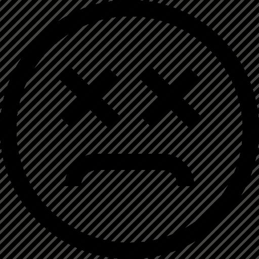 emoji, emotion, emotional, face, feeling, sad icon