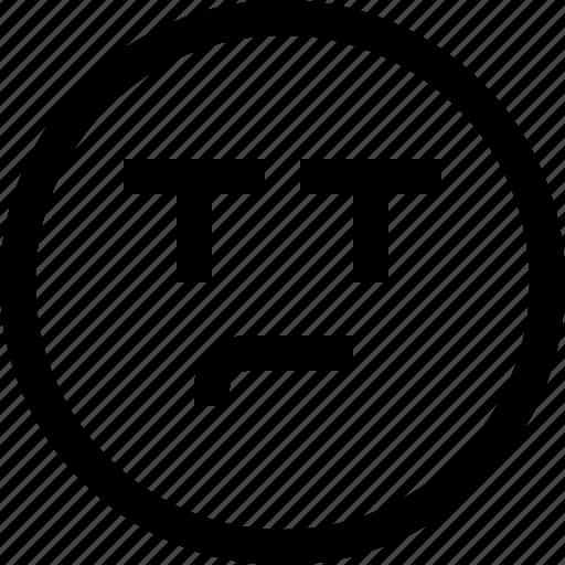and, cry, emoji, emotion, emotional, face, feeling, sad icon