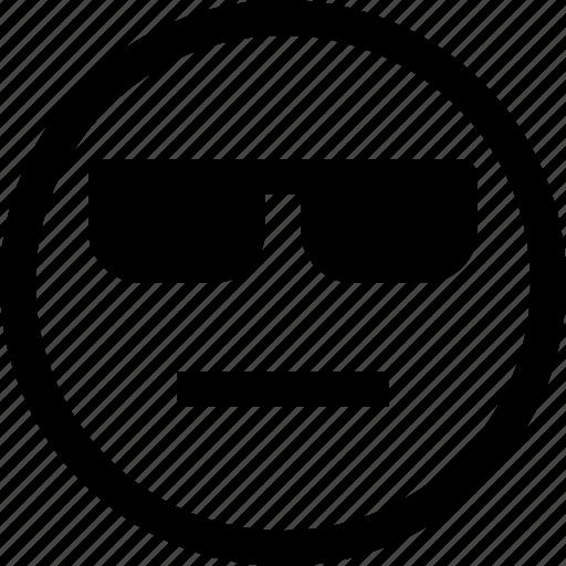 emoji, emotion, emotional, face, feeling, sceptic icon