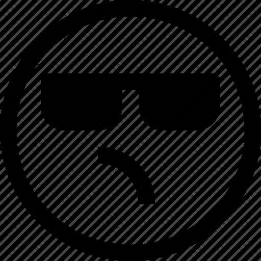 bored, emoji, emotion, emotional, face, feeling icon