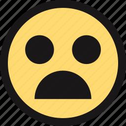 afraid, emotion, face, faces icon