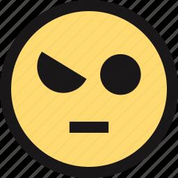 emotion, eye, face, faces icon