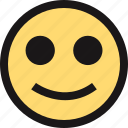 emotion, face, faces, smile icon