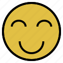 cheerfulness, delight, emotion, enjoyment, happiness icon