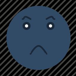 emoji, emoticon, emotion, evil, face, feeling, smiley icon