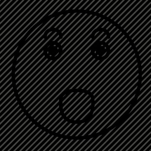 cute, emoji, emoticon, emotion, face, happy, smiley icon