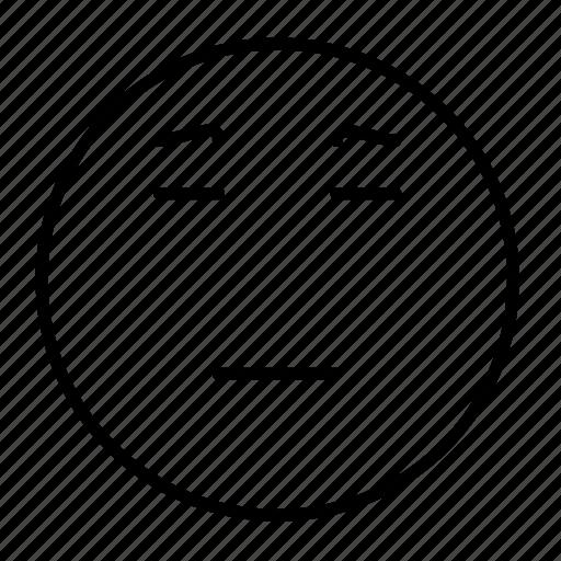 emoji, emoticon, emotion, frustrated, sad, smiley, wistful icon