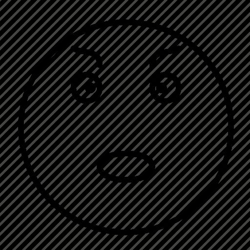 emoji, emoticon, emotion, evil, face, smiley icon