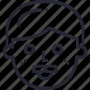 avatar, emoji, emotion, feel, feeling, happy, human, moustache, people icon