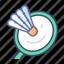 badminton, sport, emoji, game