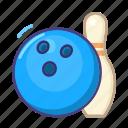 bowling, sport, emoji, game