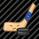 hockey, sport, emoji, game