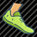 running, sport, emoji, game