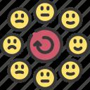 emotional, cycle, emotions, emoji icon