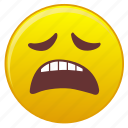 bore, emotion, face, sleepy, waiting icon
