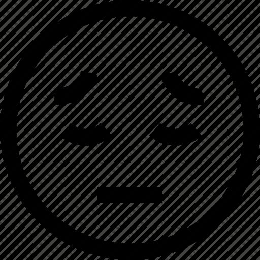 avatar, chat, emotion, face, profile, sad icon