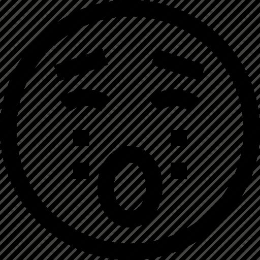 avatar, chat, cry, emotion, face, profile, sad icon