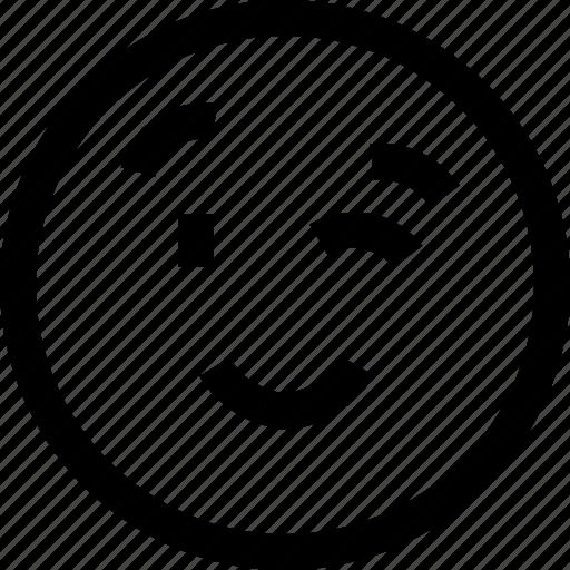 avatar, blink, chat, emotion, face, profile, sad icon